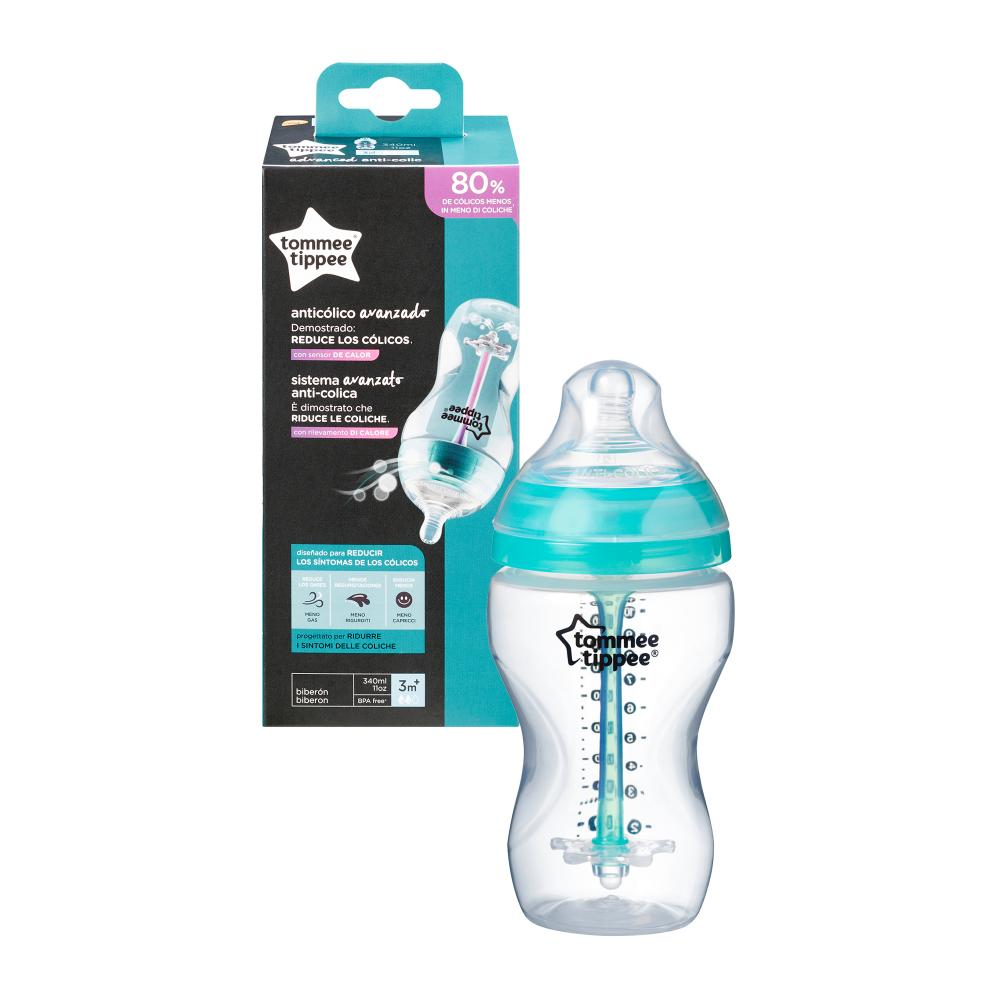 Biberon Advanced Anti-colic cu sistem de ventilatie Tommee Tippee 340 ml