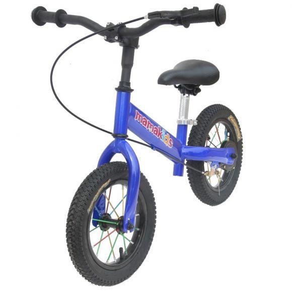 Bicicleta fara pedale 12 inch Explorer Mamakids Albastru