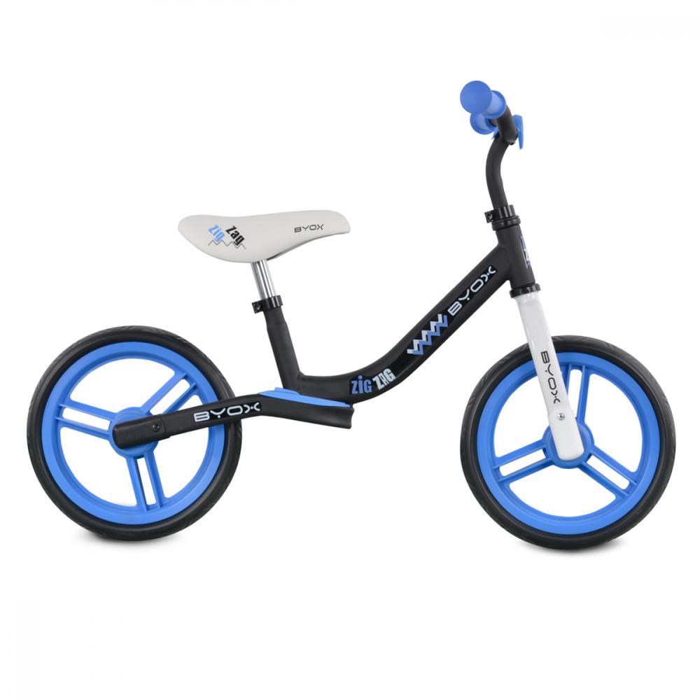 Bicicleta fara pedale Zig-Zag Blue din categoria La Plimbare de la Byox