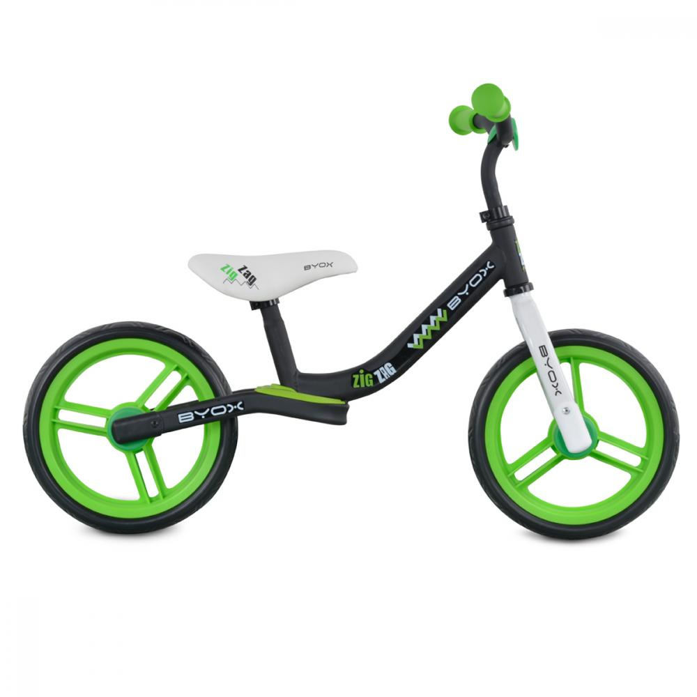 Bicicleta fara pedale Zig-Zag Green imagine