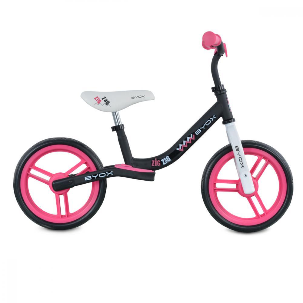 Bicicleta fara pedale Zig-Zag Pink