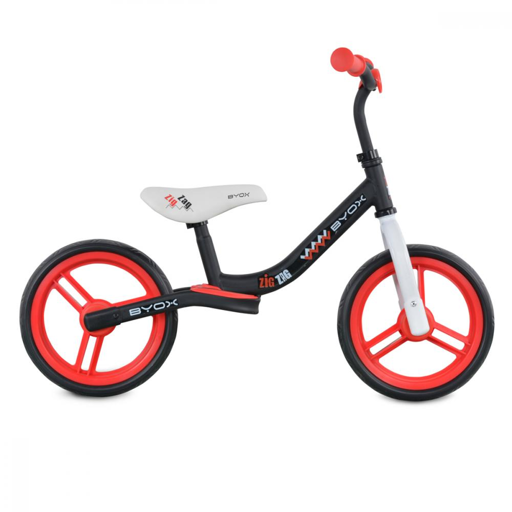 Bicicleta fara pedale Zig-Zag Red