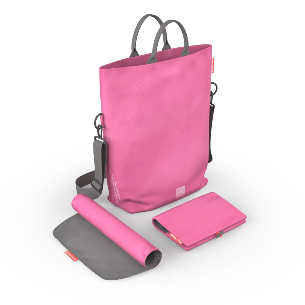 Geanta pentru scutece Pink