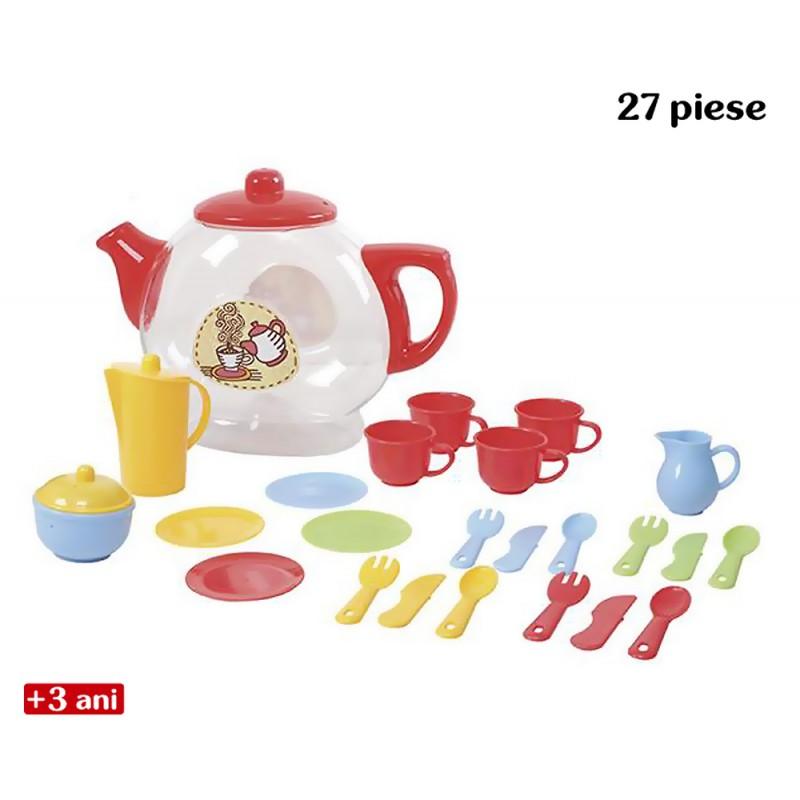 Jucarie de rol - Ceainic Deluxe cu set de ceai