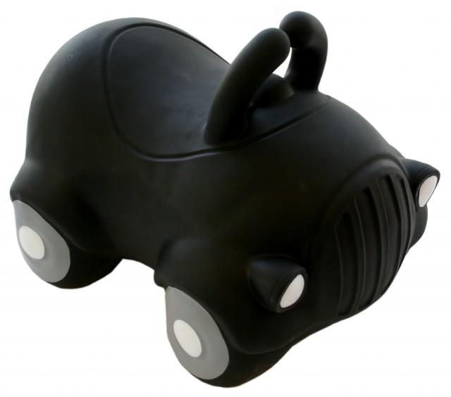 Jucarie gonflabila de sarit masina Saltareata neagra