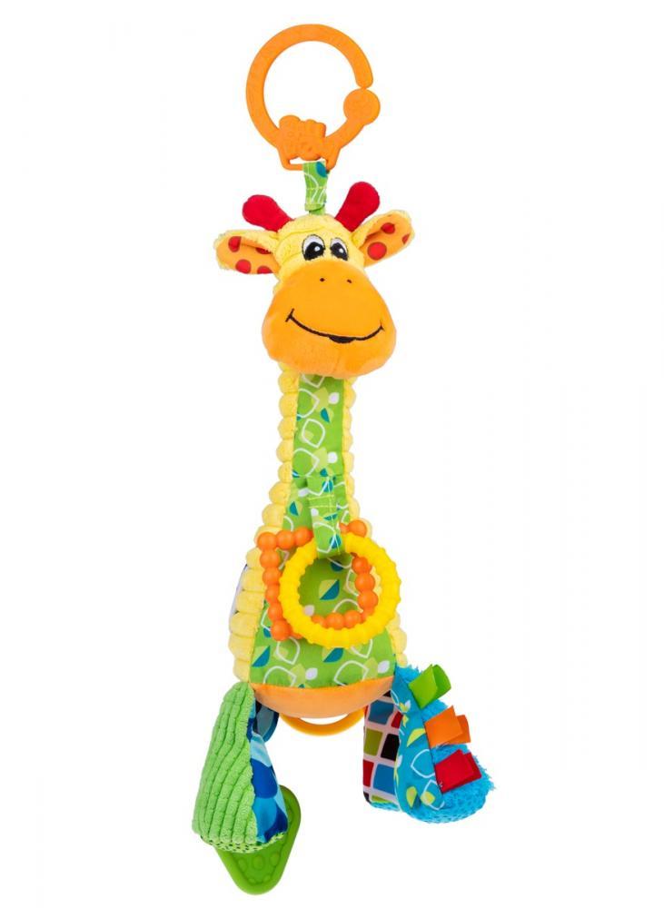 Jucarie pentru carucior Girafa Gina