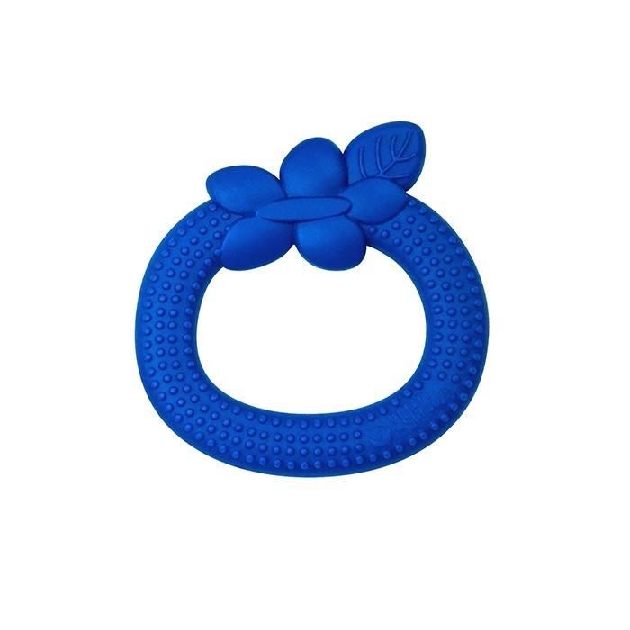 Jucarie pentru dentitie din silicon Green Sprouts Blue Blueberry