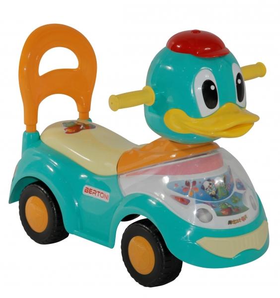 Masinuta Ride on Duck Green din categoria La Plimbare de la LORELLI