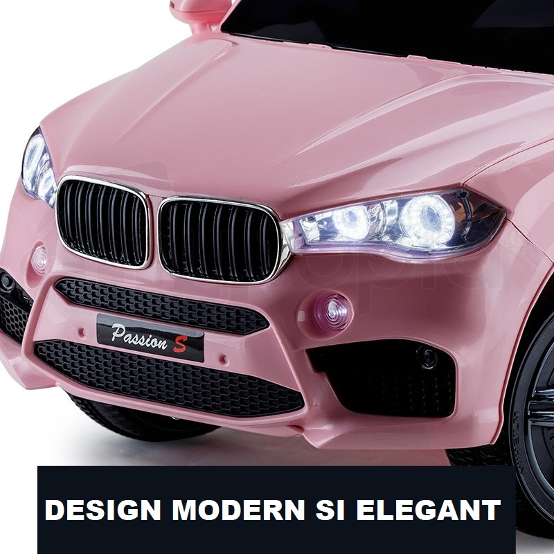 Masinuta electrica cu telecomanda 2.4 Ghz Nichiduta X Racer Pink imagine