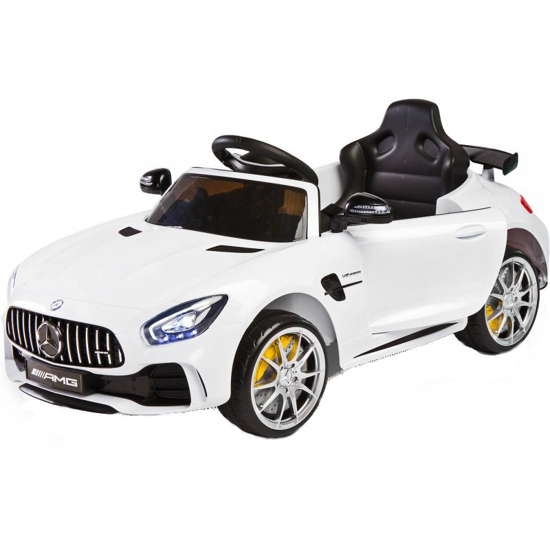 Masinuta electrica Mercedes AMG GTR White