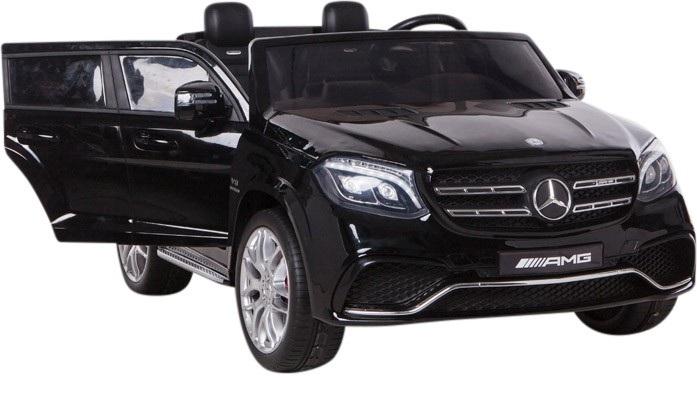 Masinuta electrica cu doua locuri Mercedes GLS63 AMG Black imagine