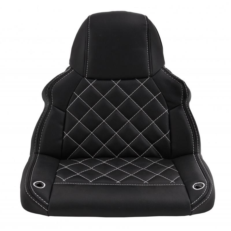 Masinuta electrica cu roti din cauciuc si scaun de piele Audi R8 Spyder Red - 7