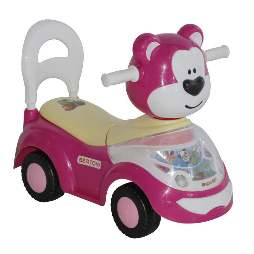 Masinuta premergator Bear Pink din categoria La Plimbare de la LORELLI