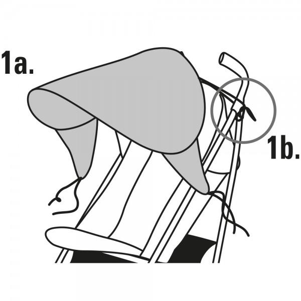 Parasolar extensibil pentru carucior Diago - 2
