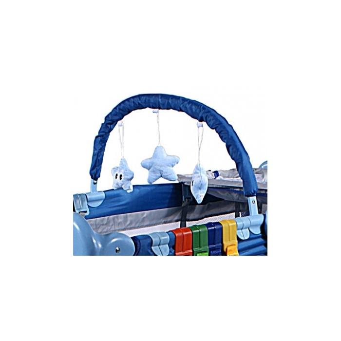 Patut Pliabil Arti Deluxe Plus-go Navy Light Blue Dinosaur