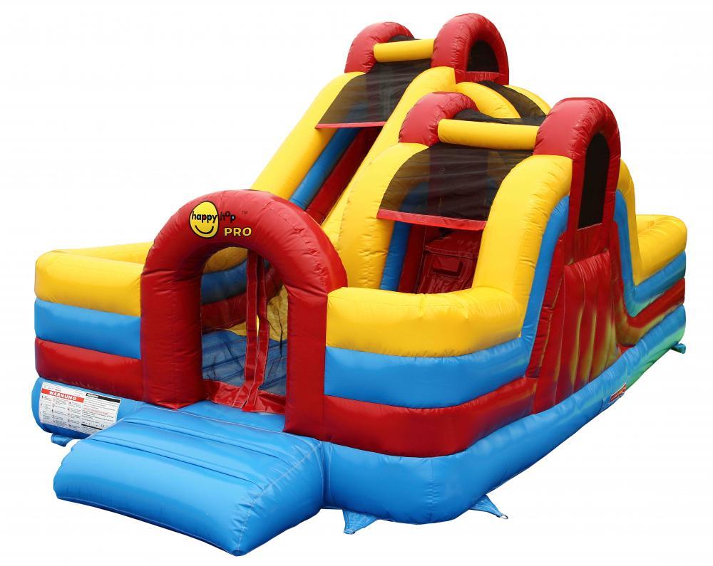 Saltea gonflabila profesionala Happy Hop Fun Zone imagine