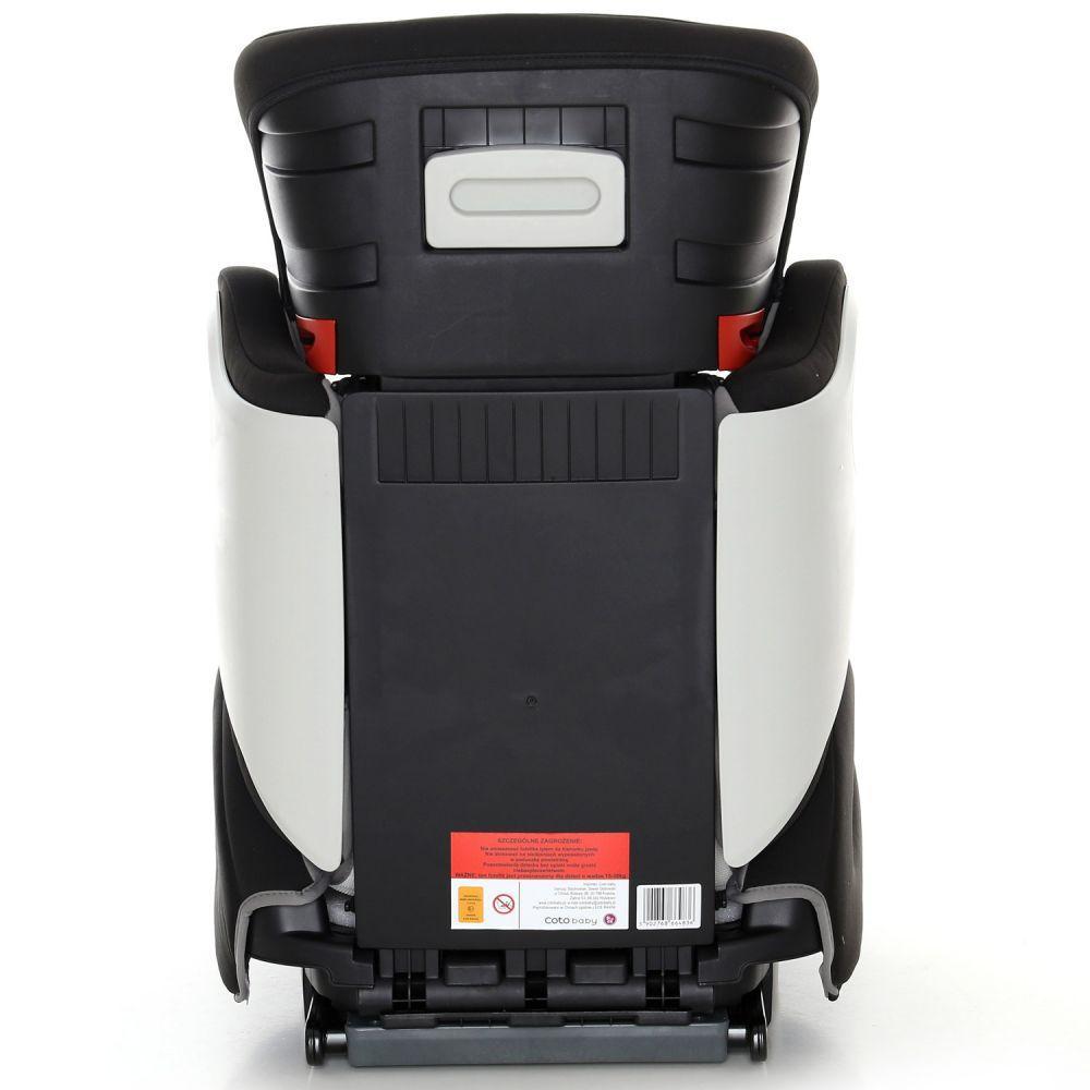 Scaun auto cu sistem Isofix Rumba Pro 15-36 kg Gri