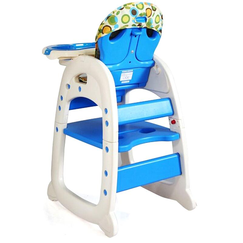 Scaun De Masa Multifunctional Baby Place Mamakids Albastru