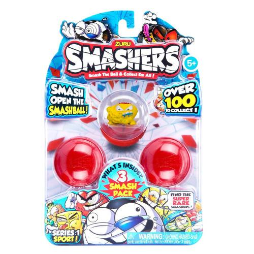 Set 3 Figurine in Mingiute Smashers