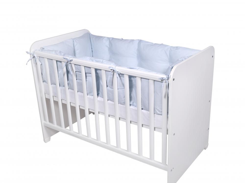 Set protectii laterale pentru pat 4 piese 60 x 120 cm Blue