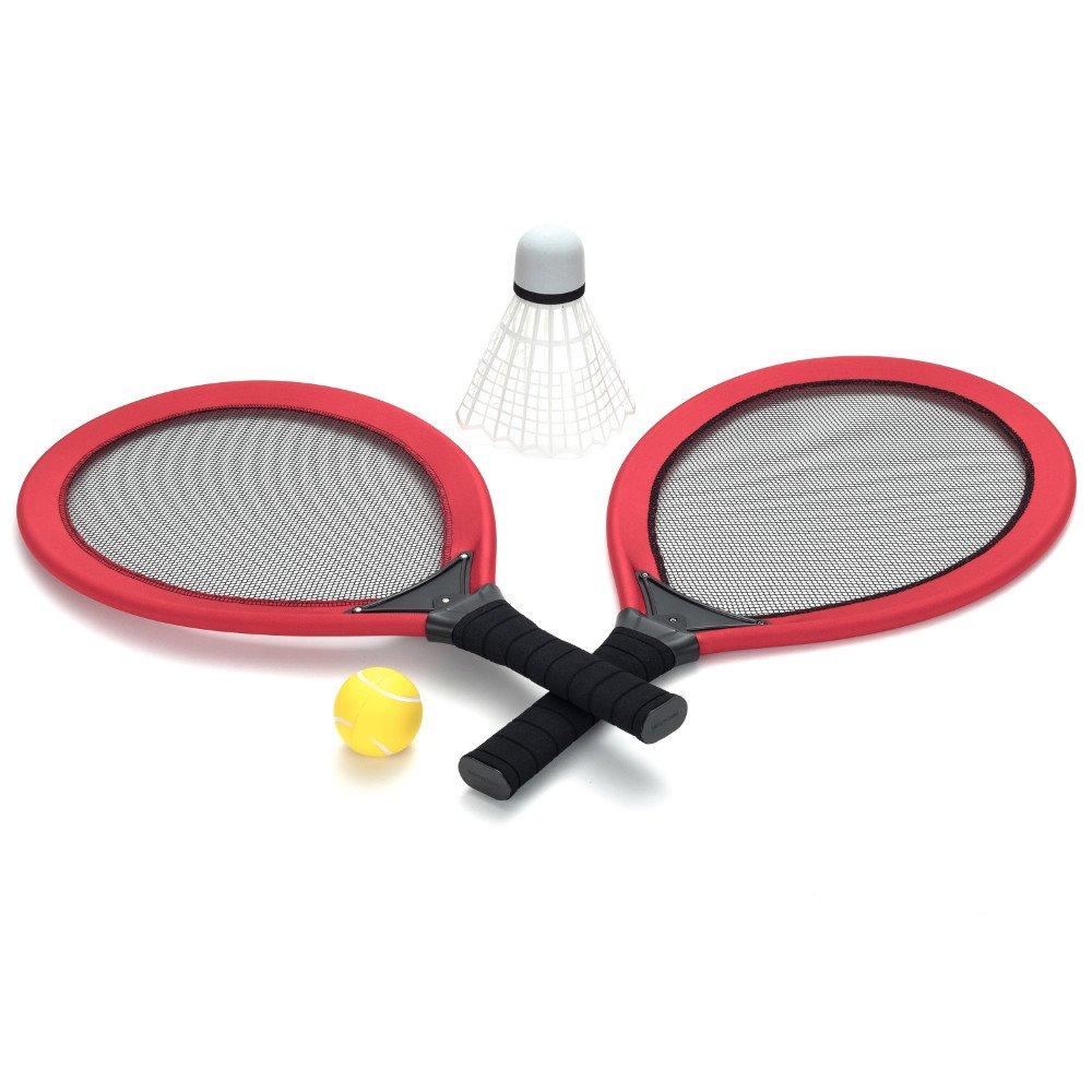 Set rachete Jumbo pentru tenis si badminton pentru cei mici