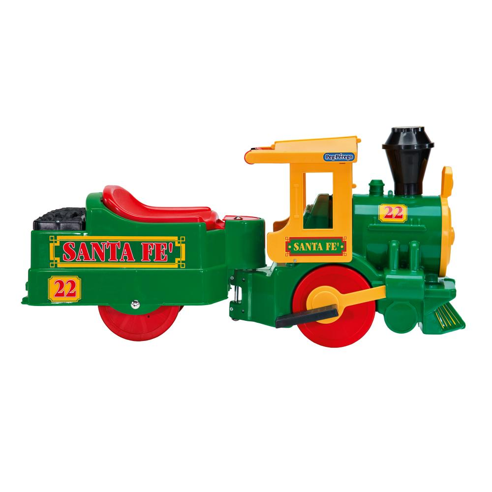 Trenulet Santa Fe Peg Perego Verde - 1