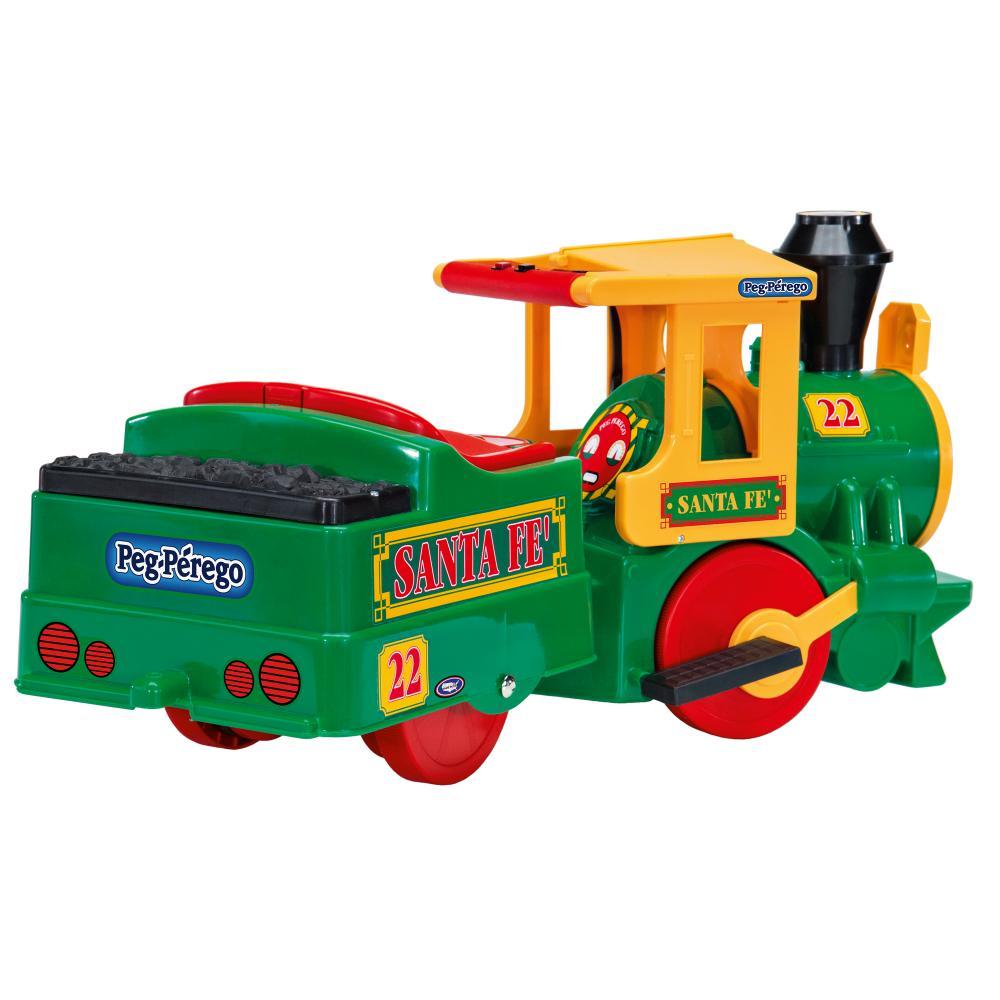 Trenulet Santa Fe Peg Perego Verde - 4