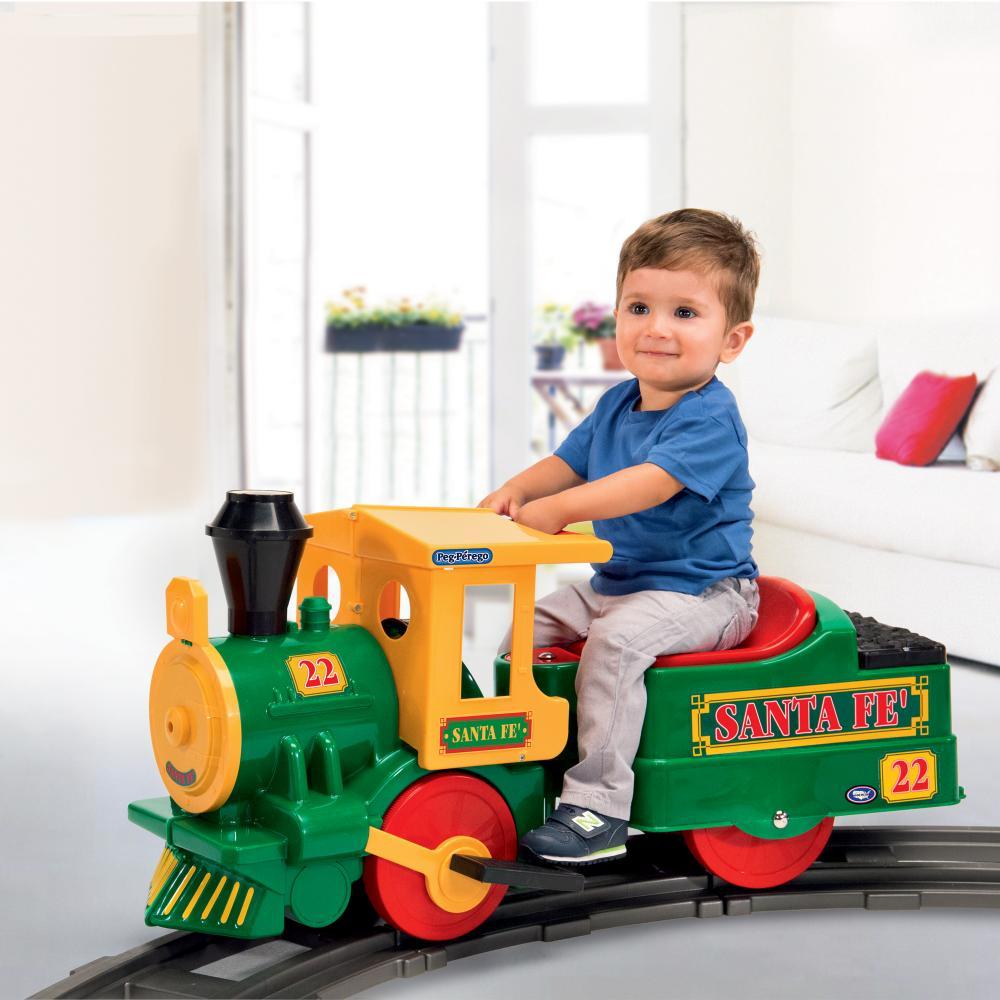 Trenulet Santa Fe Peg Perego Verde - 6