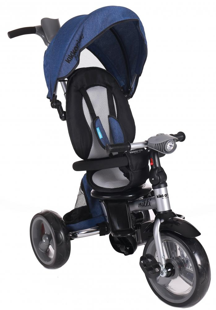 Tricicleta Pliabila Cu Sezut Reversibil Nikki Blue Melange
