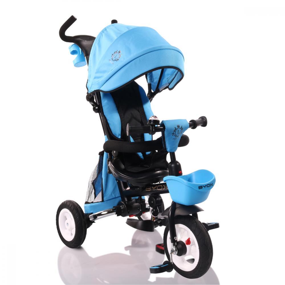 Tricicleta Cu Sezut Reversibil Flexy Lux Blue