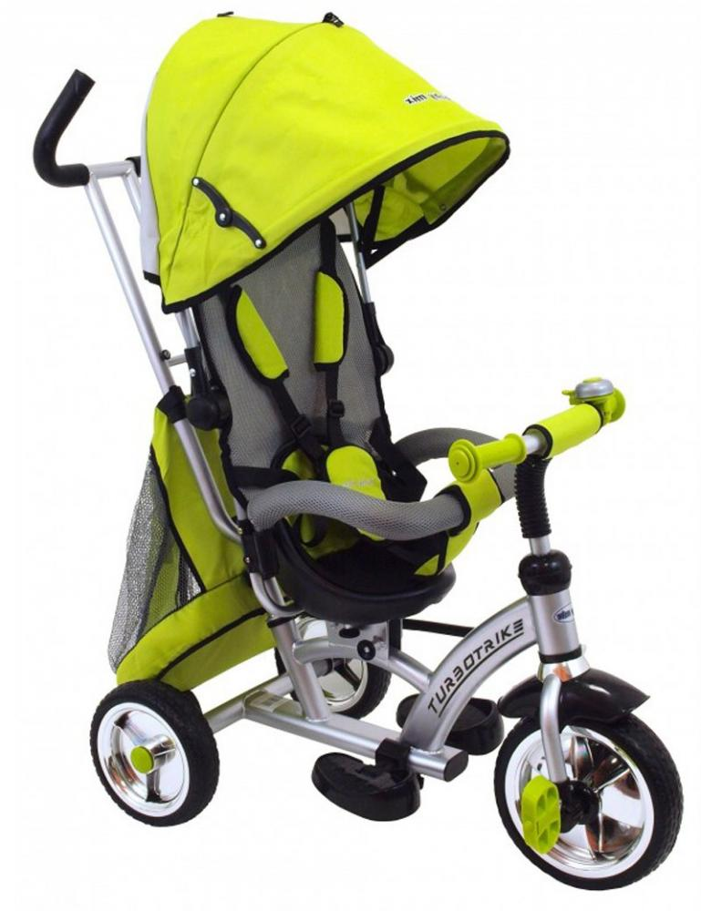 Tricicleta Cu Sezut Reversibil Sunrise Turbo Trike Light Green