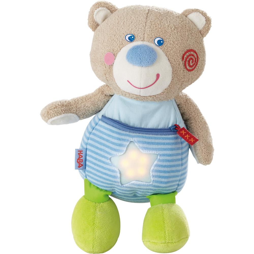 Ursulet din plus cu lumina Haba 12luni+