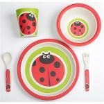 Set alimentatie Bamboo Ladybug 5 piese