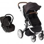 Carucior transformabil 3 in 1 Dotty Black