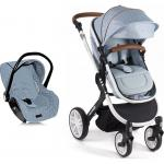 Carucior transformabil 3 in 1 Dotty Blue