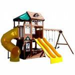 Complex de joaca din lemn Lookout Lodge