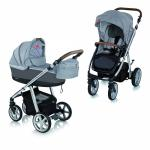 Carucior multifunctional 2in1 Espiro Next Manhattan 217 Alaska Grey 2018