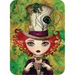 Felicitare Eclectic Lady Hatter