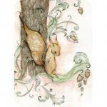 Felicitare Eclectic The Squirrel