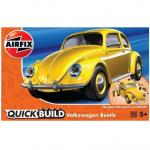 Kit constructie Airfix Quick Build VW Beetle yellow