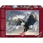 Puzzle 500 piese Vultur Owen Francis Bell
