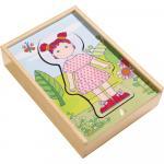 Puzzle din lemn Haba Hainele preferate ale lui Lilli 18luni+