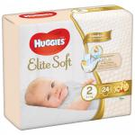 Scutece Huggies Elite Soft nr.2 4-6 kg 24 buc
