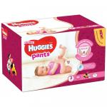 Scutece-chilotel Huggies Pants nr 3 Girl 6-11 kg 88 bucati