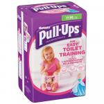 Scutece-chilotel Huggies Pull-Ups 5/M Girl 11-18kg 14 buc