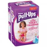 Scutece-chilotel Huggies Pull-Ups 6/L Girl 16-23 kg 12 buc