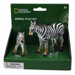 Set 2 figurine - Zebra