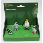 Set 4 figurine cu pinguini