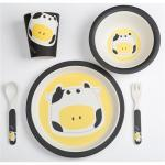 Set alimentatie Bamboo Cow 5 piese
