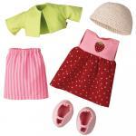 Set de haine pentru papusi Haba Strawberry 18luni+